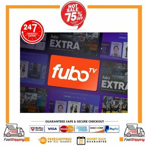 Fubo TV Account Worldwide + HULU NO ADS Sport & TV | 3 Years Warranty - 100+ Cha