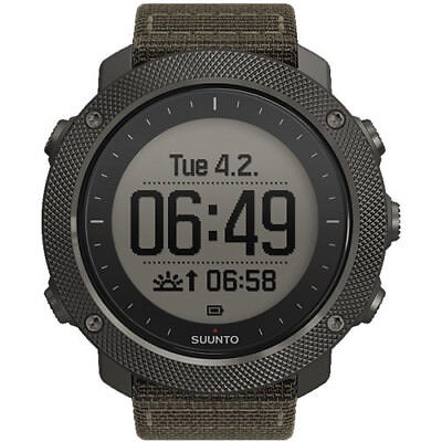 Suunto Traverse Alpha Sport GPS Military Outdoor Unisex Watch SS022292000 New