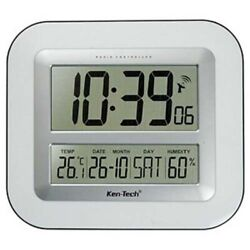 Sonnet Atomic LCD Desk / Wall Clock 2.5 Numbers T-4680