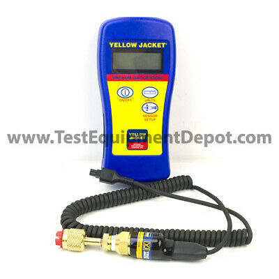 Yellow Jacket 69086 Hand-held Vacuum Gauge W Fabric Carry Pouch