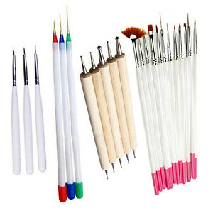 23Pcs-Nail-Art-Polish-Painting-Pens-Brush-Tips-Set-Nail-Brushes-Exquisite