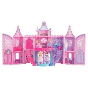 disney princess castle polly pocket