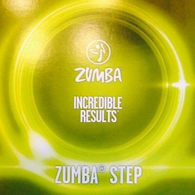 Zumba Fitness Z Step DVD From The Incredible Results DVD Set! Glutes and Legs!