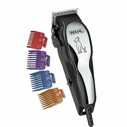 Wahl Clipper Pet-Pro Dog Grooming Kit - Quiet Heavy-Duty Electric Corded Dog Cli