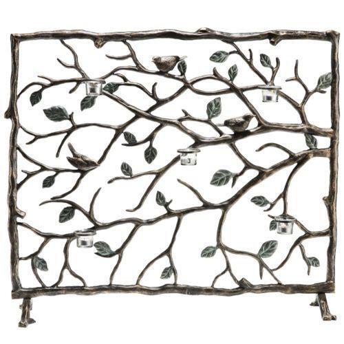 Bronze Fireplace Screen EBay