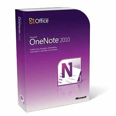 "Microsoft Office One Note 2010 ""french"