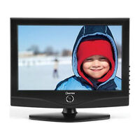 """Daytek 19"""" Widescreen LCD TV, DC Plug in, HDMI Input, Great for"""