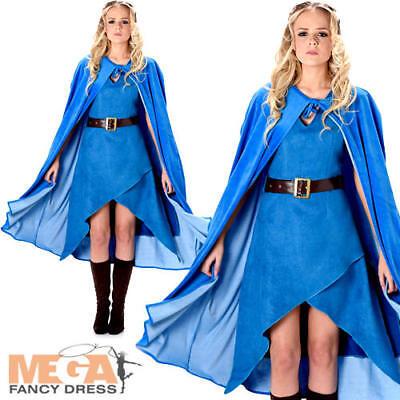 Warrior Queen Cersei Ladies Fancy Dress Medieval Game Of Thrones Womens - Game Of Thrones Cersei Kostüm