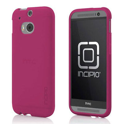 NEW INCIPIO NGP PROTECTIVE CASE COVER FOR HTC ONE M8 TRANSLUCENT PINK HT-400-PNK Translucent Pink Case Cover