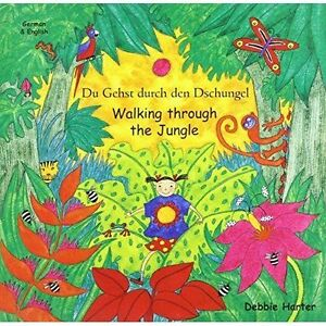 Walking Through the Jungle (Mantra duets), Good Condition Book, Harter, Debbie,