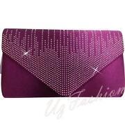 Purple Satin Bag