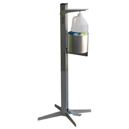 Industrial Sanitizer Dispenser, Touchless, Foot Activated, No Batteries