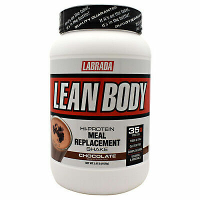 Labrada Nutrition Lean Body 2.47lbs Hi-Protein Meal Replacement Chocolate