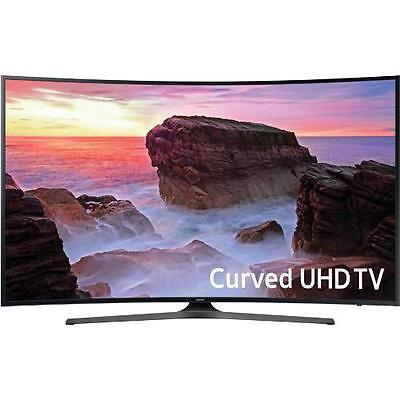 "Samsung UN49MU6500 49"" Class Smart Curved LED 4K UHD TV With Wi-Fi"