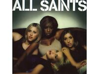 2 x ALL SAINTS STANDING TICKETS BIRMINGHAM 14TH OCTOBER £60 THE PAIR POSTED OR YOU CAN COLLECT