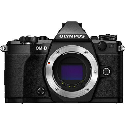 Olympus OM-D E-M5 Mark II Mirrorless Micro 4/3 Camera (Body, Black) V207040BU000
