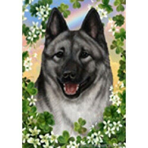 Clover House Flag - Norwegian Elkhound 31403
