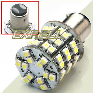 Lampadina-di-Posizione-Stop-Frena-BAY15D-60-LED-SMD-3528-Bianco-Auto ...