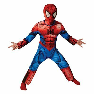 B-WARE Marvel Kostüm Ultimate Spider-Man Kidnerkostüm Einteiler Maske - Marvel Spider Man Kostüme