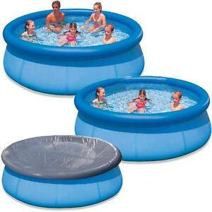 Large paddling garden pool kids fun family swimming for Garden paddling pools