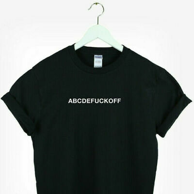 Aesthetic Halloween Costumes (Abcdefuckoff shirt Unisex Aesthetic clothing Shirt sarcasm halloween)