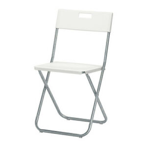 $1 a day folding chair rental and $5 a day Folding table rental.