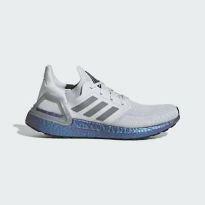 Adidas Ultraboost 20 ISS Dash Grey Blue Violet Met EG0755 UK 8