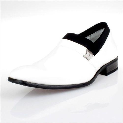 white tuxedo shoes ebay