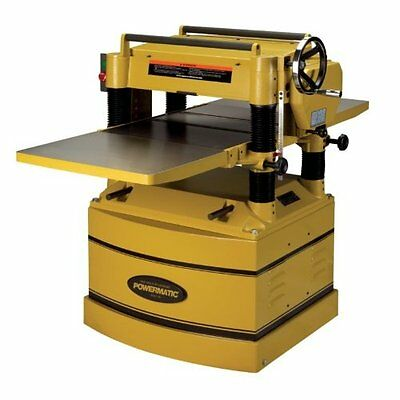 Powermatic 1791315 209HH 20-inch Planer with Byrd Cutter Hea