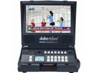 Datavideo HRS-30 HD recorder and monitor in one - Brand New