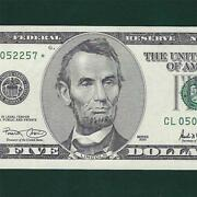 US Currency Star Notes