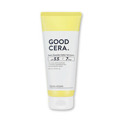 [Holika Holika] Good Cera Super Ceramide Family Oil Cream - 200ml