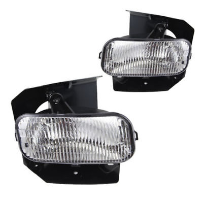 for 1999-2003 Ford F-150 Replacement Clear Lens Fog Light Front Bumper Lamp PAIR