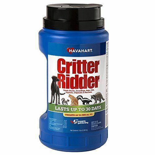 Havahart Critter Ridder 3146 Animal Repellent, 5-Pounds Gran