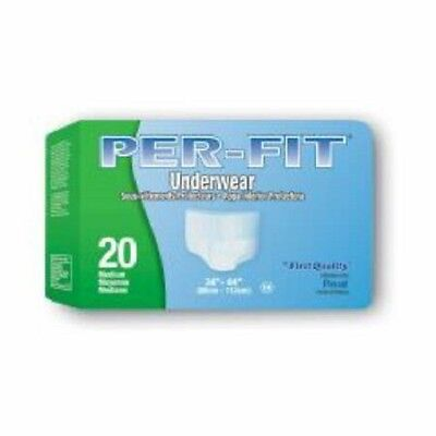 Prevail Per-Fit: Extra Absorbency Protective Underwear Medium Pack of 20 (Prevail Extra Protective Underwear)