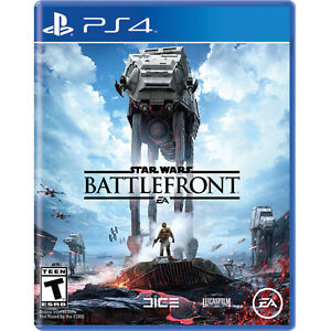 NEW IN BOX NEVER OPENED STAR WARS BATTLEFRONT PS4!!!