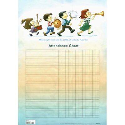 Music and Children Attendance Chart