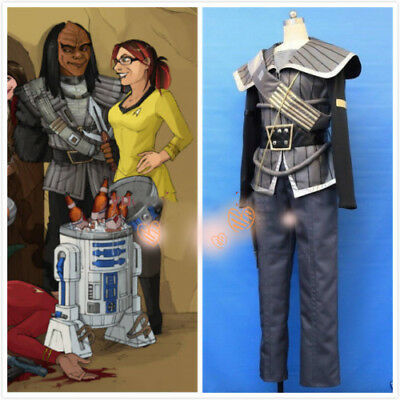 Star Trek Klingon Cosplay Costume Custom Made  - Klingon Costume