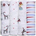 aden + anais Unisex Nursery Blanket Sets with Wrap
