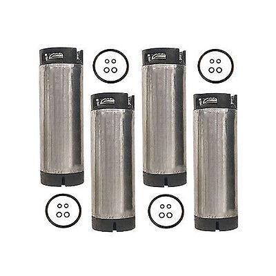 5 Gallon Ball Lock Home Brew Beer Keg - Reconditioned Pepsi Soda Keg - Set Of 4