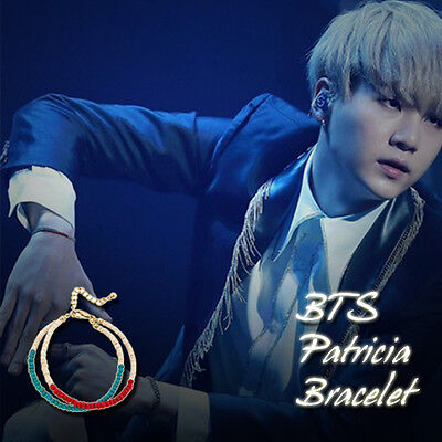 BTS BangTanBoys Patricia Bracelet Kpop Style Hot Item Made In Korea