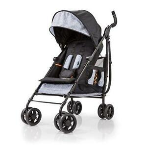 NEW Summer Infant 3D Tote Convenience Stroller, Heather Gray