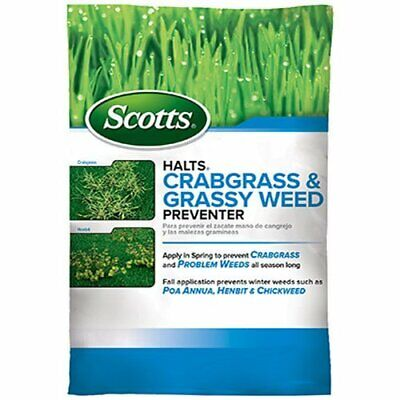 Scotts Halts Crabgrass & Grassy Weed Preventer, 5,000sq-ft