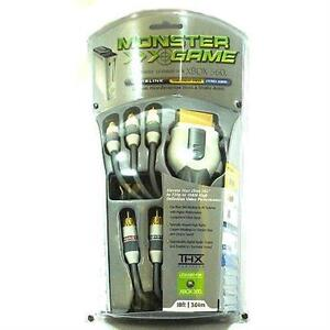 High End Xbox 360 Component Cable (Monster Brand!!)