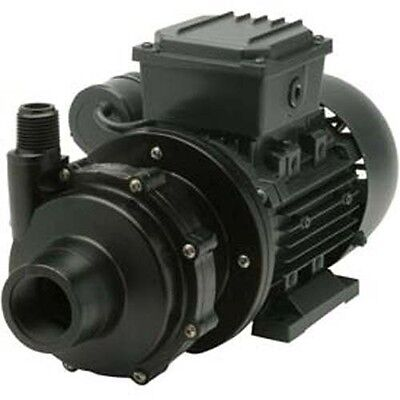 Commercial Chemical Pump - Pvdf - 12 Hp - 115v - 1 Ph - 30 Gpm - Magnetic Drive
