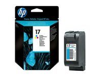 HP 17 Cyan/Magenta/Yellow Inkjet Cartridge C6625A