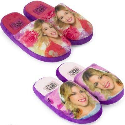 Hausschuh Latschen Pantoffel Puschen Schuhe* Violetta * NEU Gr.:27-34