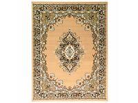 New Traditional Classic Design Rug Beige Carpet 60x110cm