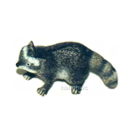FREE SHIPPING | AAA 96859 Raccoon Wild Forest Animal Figurine - New in Package