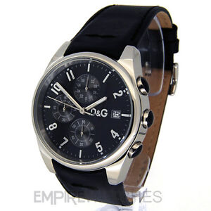 *NEW* DOLCE & GABBANA MENS D&G SANDPIPER WATCH RRP £150